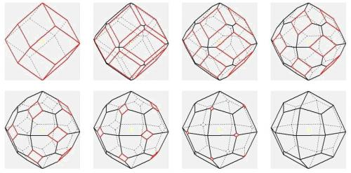 dodecahedron and trapezohedron combos