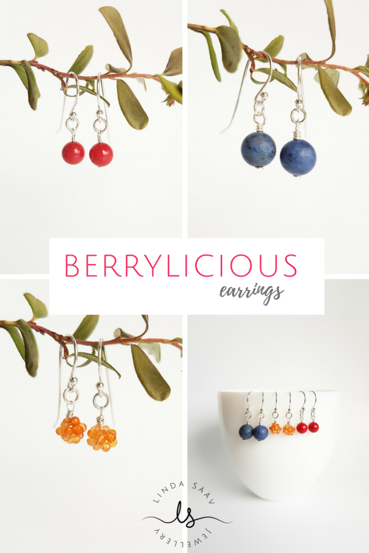 Swedish Berry Earrings