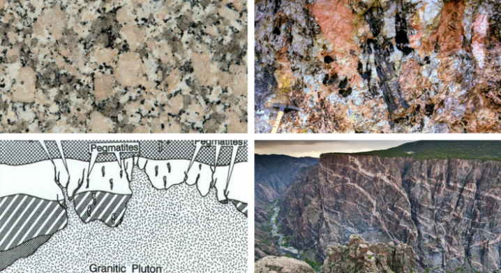 Granite vs Pegmatite Texture and How Pegmatites Form