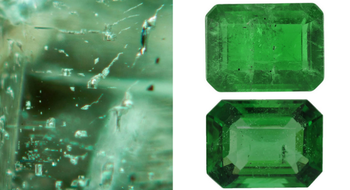 Included Emerald and A quality vs AAA quality