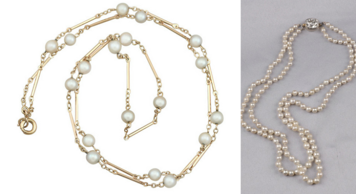 Antique Natural Pearl Necklaces