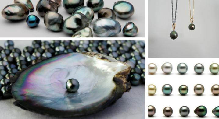 Tahitian Pearls Black Pearls