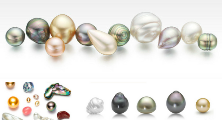 The Various Shapes of Pearls
